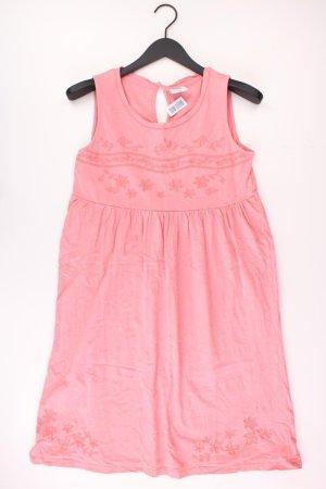 Mama Licious Midikleid Größe M Ärmellos pink aus Baumwolle