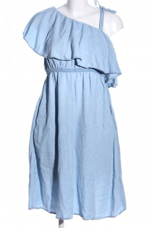Mama licious Minikleid blau Casual-Look