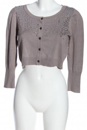 Mama licious Knitted Bolero natural white casual look