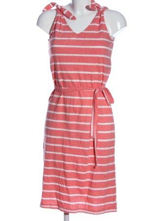 Mama licious Trägerkleid pink-weiß Streifenmuster Casual-Look