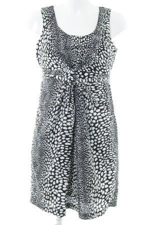 Mama licious Trägerkleid schwarz-weiß extravaganter Stil
