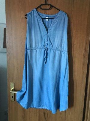 H&M Robe en jean bleuet