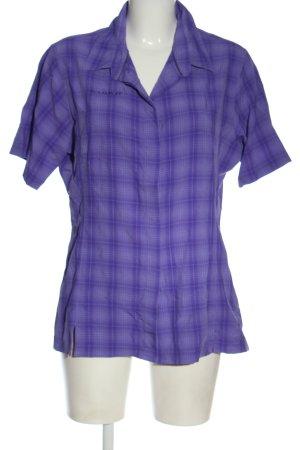 Mammut Lumberjack Shirt lilac-blue allover print elegant