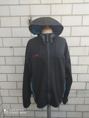Mammut Softshell Jacket black-blue