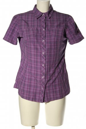 Mammut Shirt Blouse lilac-blue allover print casual look