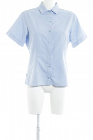 Mammut Kurzarmhemd himmelblau sportlicher Stil
