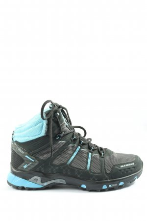 Mammut Short Boots light grey-turquoise casual look