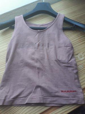 mammut shirt mit integriertem bandeau bh top