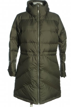 Mammut Quilted Jacket khaki quilting pattern casual look