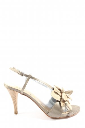 Manas Lea Foscati High Heel Sandaletten creme Elegant
