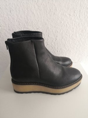 Manas Platform Boots black-oatmeal