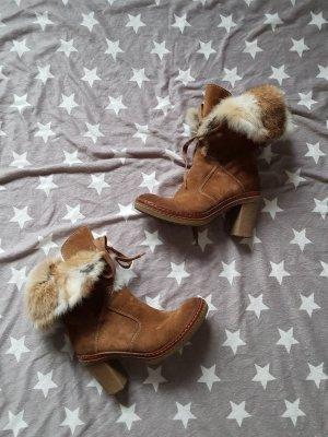 Manas Aanrijg laarzen veelkleurig