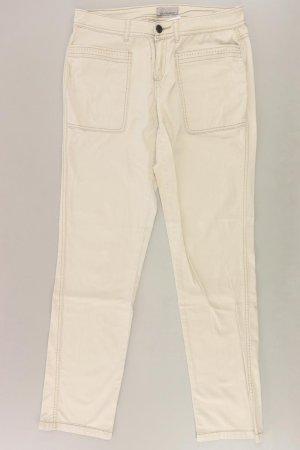 Mandarin Jeans Größe 38 creme aus Baumwolle