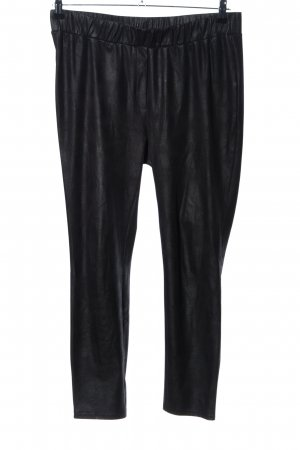 Mandarin Leggings schwarz Casual-Look