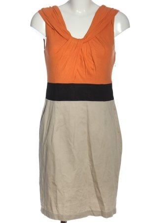 Mandarin Midikleid mehrfarbig Casual-Look