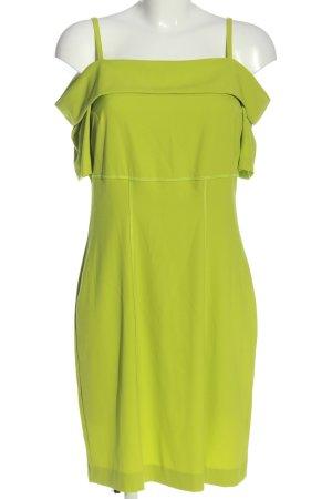 Mandarin Trägerkleid grün Casual-Look