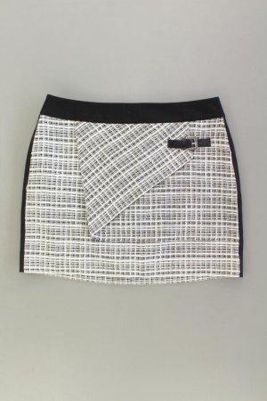 Mandarin Tweedowa spódnica w kolorze białej wełny Bawełna