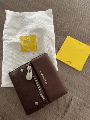 Mandarina Duck  Geldbörse neu in braunem Leder