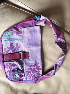 Mandarina Duck - Handtasche, lila/bunt - neuwertig