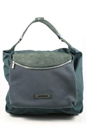 Mandarina Duck Borsa shopper verde-blu stile casual