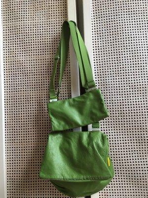 Mandarina Duck Tasche, grün mit Zusatztasche