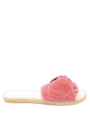 Manebi Strandsandalen pink Casual-Look