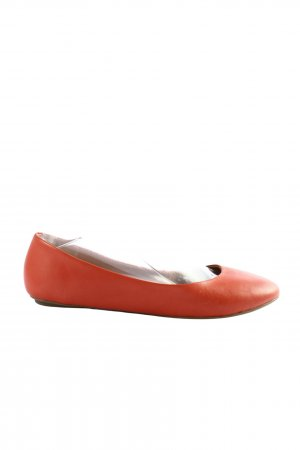 Manfield Bailarinas plegables rojo look casual