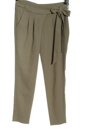 Mango Spodnie 7/8 jasnoszary W stylu casual