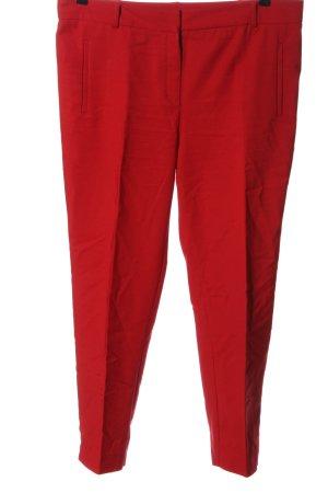 Mango Pantalon 7/8 rouge style décontracté