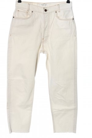 Mango 7/8 Length Jeans white casual look