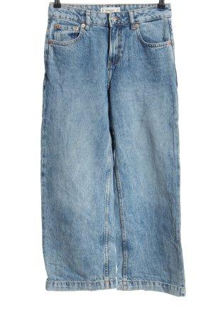 Mango Jeans 7/8 bleu style décontracté
