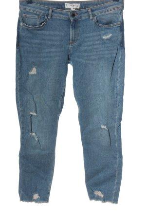 Mango 7/8 Jeans blau Casual-Look