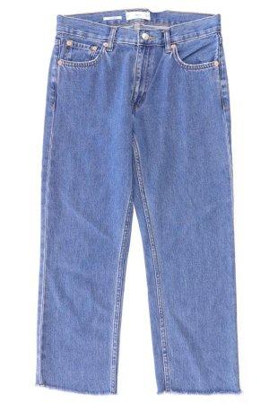 Mango Jeansy 7/8 niebieski-niebieski neonowy-ciemnoniebieski-błękitny Bawełna
