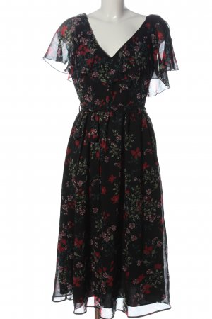Mango A-Linien Kleid Allover-Druck Casual-Look