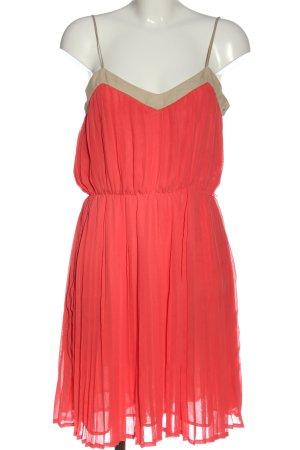 Mango A-Linien Kleid rot Elegant