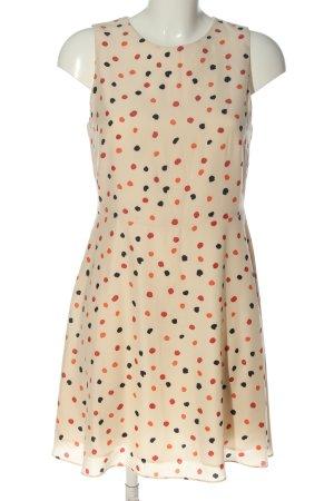 Mango A-Linien Kleid Allover-Druck Elegant