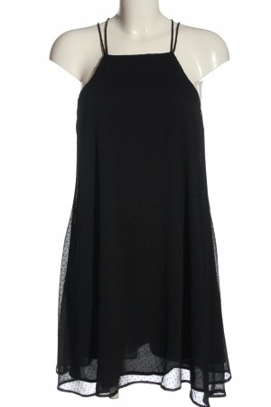 Mango A-Linien Kleid schwarz Elegant