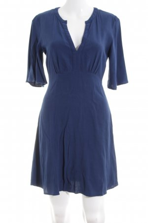 Mango A-Linien Kleid blau Elegant