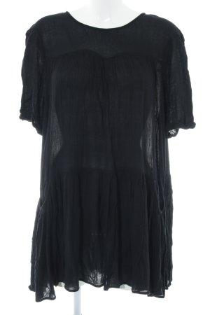 Mango A-Linien Kleid schwarz Casual-Look