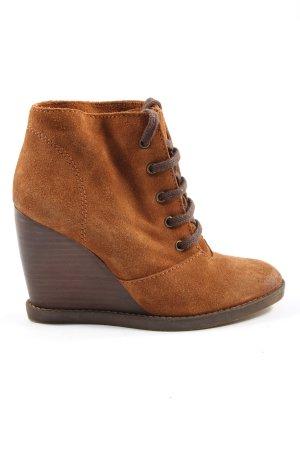 Mango Absatz Sneaker braun Casual-Look
