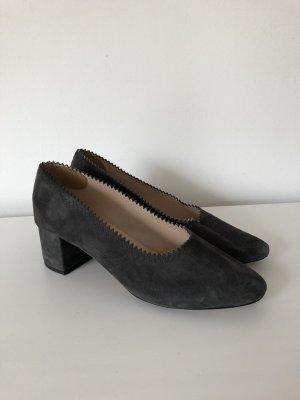 Mango Chaussure à talons carrés gris