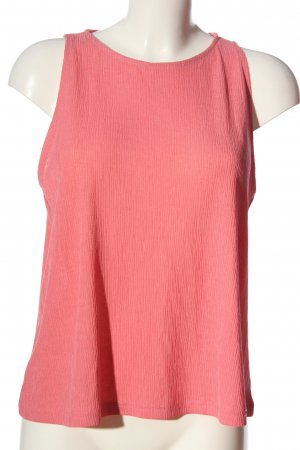 Mango ärmellose Bluse pink Casual-Look