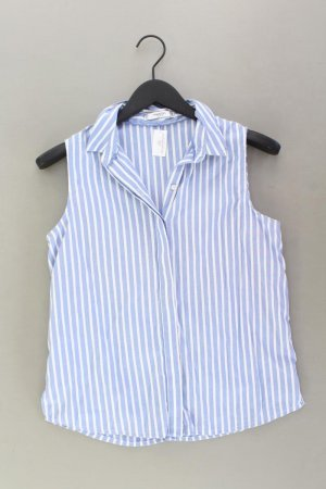 Mango Ärmellose Bluse Größe M gestreift blau aus Polyester