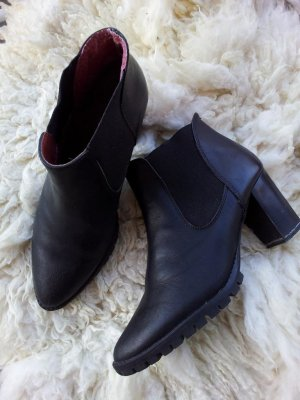 Mango Ankle-Boots / Stiefelette in 39, Schwarz, Glattleder