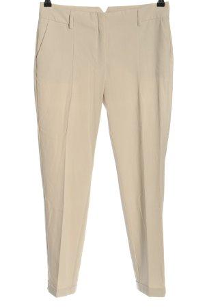 Mango Pantalone da abito bianco sporco stile professionale