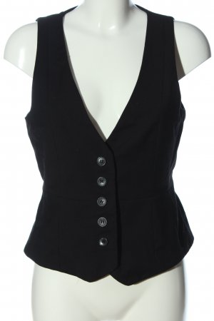 Mango Waistcoat black casual look