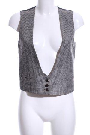 Mango Waistcoat check pattern business style