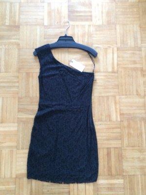Mango Asymmetrisches Spitzen-Kleid Schwarz Gr.36/S Neu mit Etikett NP 39,99€