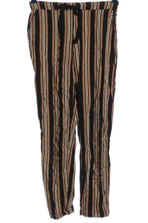 Mango Baggy Pants striped pattern casual look