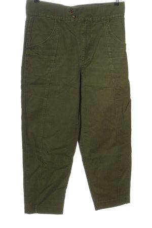 Mango Baggy Pants brown casual look